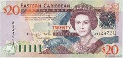 20 Dollars CARAÏBES  2003 P.44u NEUF