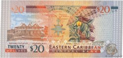 20 Dollars CARAÏBES  2003 P.44v NEUF
