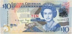 10 Dollars CARAÏBES  2008 P.48 NEUF