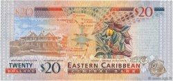 20 Dollars CARAÏBES  2008 P.49 NEUF