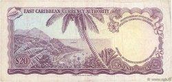 20 Dollars CARAÏBES  1965 P.15i TTB