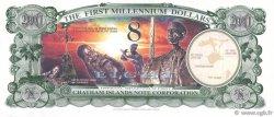8 Dollars ILES CHATHAM  2001 P.-- NEUF