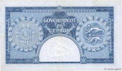250 Mils CHYPRE  1956 P.33a TTB+