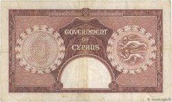 1 Pound CHYPRE  1955 P.35a TB