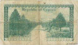 500 Mils CHYPRE  1961 P.38a B+