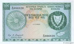 500 Mils CHYPRE  1968 P.42a NEUF