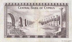 1 Pound CHYPRE  1978 P.43c TTB
