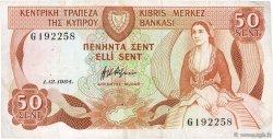 50 Cents CHYPRE  1984 P.49a TTB