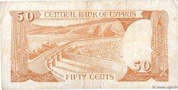 50 Cents CHYPRE  1988 P.52 TB+