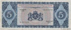 5 Gulden CURACAO  1948 P.29 TB