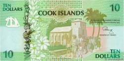 10 Dollars ÎLES COOK  1992 P.08a NEUF