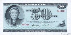 50 Kronur ÎLES FEROE  1967 P.17 NEUF