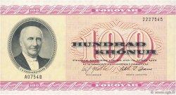 100 Kronur ÎLES FEROE  1975 P.18a pr.NEUF