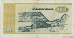 100 Kronur ÎLES FEROE  1978 P.21a pr.TTB