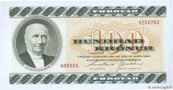 100 Kronur ÎLES FEROE  1990 P.21e pr.NEUF