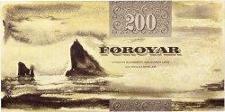 200 Kronur ÎLES FEROE  2003 P.26 NEUF