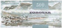 500 Kronur ÎLES FEROE  2004 P.27 SPL+