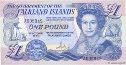 1 Pound ÎLES FALKLAND  1984 P.13a pr.NEUF