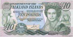 10 Pounds ÎLES FALKLAND  1986 P.14a pr.NEUF
