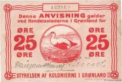 25 Ore GROENLAND  1913 P.11b TTB+