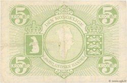 5 Kroner GROENLAND  1953 P.18a TTB+