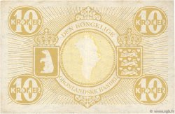 10 Kroner GROENLAND  1953 P.19b TTB+