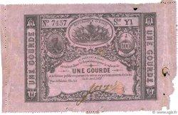 1 Gourde HAÏTI  1827 P.041 TB
