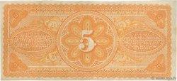 5 Piastres HAÏTI  1875 P.072 TTB+