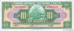 10 Gourdes HAÏTI  1967 P.193a pr.NEUF