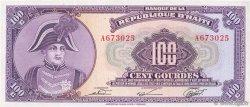 100 Gourdes HAÏTI  1979 P.236a SUP