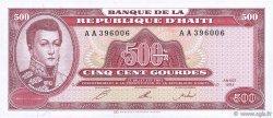 500 Gourdes HAÏTI  1993 P.264a NEUF