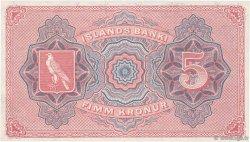 5 Kronur ISLANDE  1920 P.15r NEUF