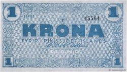 1 Krona ISLANDE  1941 P.22a NEUF