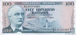 100 Kronur ISLANDE  1961 P.44a TTB