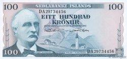 100 Kronur ISLANDE  1961 P.44a pr.NEUF