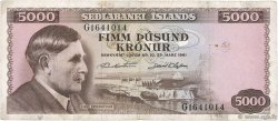 5000 Kronur ISLANDE  1961 P.47a pr.TTB