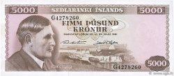 5000 Kronur ISLANDE  1961 P.47a pr.NEUF