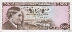 5000 Kronur ISLANDE  1961 P.47a TTB+