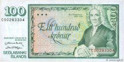 100 Kronur ISLANDE  1961 P.50a SUP