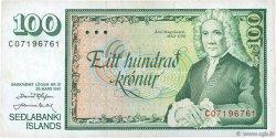 100 Kronur ISLANDE  1961 P.50a TTB