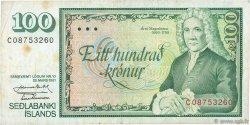 100 Kronur ISLANDE  1961 P.50a TB+