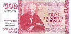 500 Kronur ISLANDE  2001 P.58b NEUF
