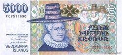 5000 Kronur ISLANDE  2001 P.60 NEUF