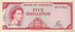 5 Shillings JAMAÏQUE  1964 P.51Ab TTB+