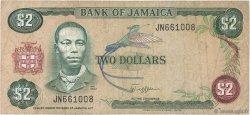 2 Dollars JAMAÏQUE  1982 P.65a TB+
