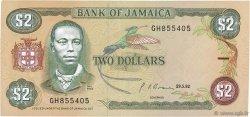 2 Dollars JAMAÏQUE  1992 P.69d pr.SUP