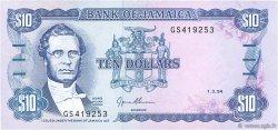 10 Dollars JAMAÏQUE  1994 P.71e SUP