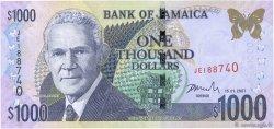 1000 Dollars JAMAÏQUE  2007 P.86e pr.NEUF