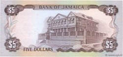 5 Dollars JAMAÏQUE  1976 P.CS01a pr.NEUF
