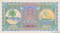 1 Rupee MALDIVES  1960 P.02b TTB